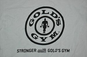 t shirt small golds gym stronger with golds body building 18 inches pit2pit $8.88