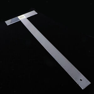 45cm 60cm Plastic T Square Ruler Scale Ruler Engineer Architect Drafting Tools $10.90