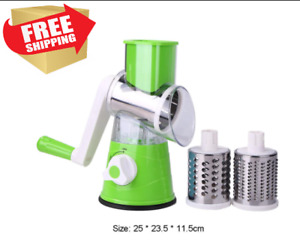 Vegetable Cutter Fruit Potato Round Mandoline Slicer Shredder Kitchen Gadgets