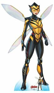 Wasp Official Lifesize Marvel Avengers Cardboard Cutout with Free Mini GBP 37.29