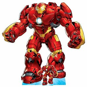 Hulk Buster Armour Official Marvel Avengers Cardboard Cutout with Free Mini GBP 69.99