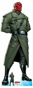 Red Skull Official Lifesize Marvel Avengers Cardboard Cutout with Free Mini GBP 37.29