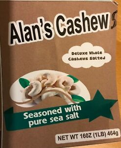 Deluxe Whole Cashews Sea Salted 100% to Vietnam Children Charity