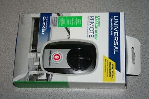 Universal by Chamberlain REMOTE 2 Button Garage Door Opener KLIK3U-SS NEW