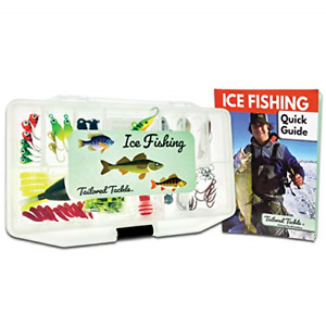 Tailored Tackle Ice Fishing Jigs Lures Kit Walleye Perch Panfish Crappie