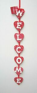 Valentine's Day Hanging Red Hearts 26