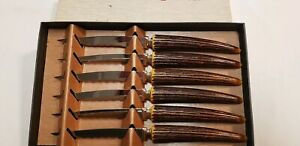 Warwick Stainless Steel Steak Knife Set Of 6 middle-ground edges