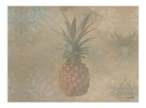 Kitchen Pineapple Gifts Rustic Pineapple Trivet Pineapple Glass Cutting Board