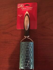 Flat Fine Cheese Grater Home Kitchen Cooking Utensil Silver