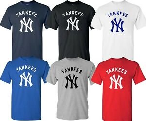 New York YANKEES MLB Graphic UNISEX T SHIRT Multi Colors S 4XL