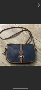 1980s Vintage Dooney amp; Bourke Over Under Bag $120.00