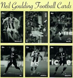 Champions League ON DEMAND 2018 2019 ☆ BLACK WHITE ☆ Football Cards #1 to #30 GBP 2.99