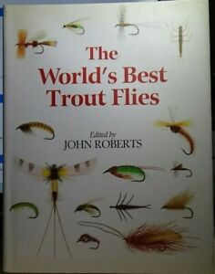 quot;The World#x27;s Best Trout Fliesquot; Hardcover Dust Jacket 1994 Illustrated 182pgs