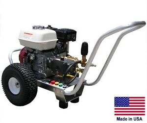 PRESSURE WASHER Coml - Portable - 2.5 GPM - 3000 PSI - 6.5 Hp Honda - GP-BIUL