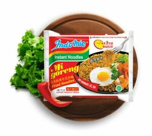 HOT Instant Stir Fry Noodles, Halal Certified, Original Flavor, 3 oz, Pack of 30