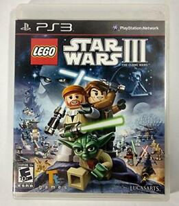 LEGO Star Wars III: The Clone Wars (Sony PlayStation 3 2011)