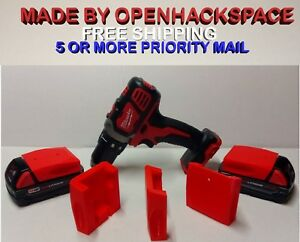 10 Pack Milwaukee 18v M18 Battery Mount Bracket Holder - Made in USA