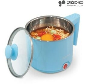 Electric Multi Cooking Pot Ramen Noodle Hot Water Kettle Cooker 1L Stainless BL