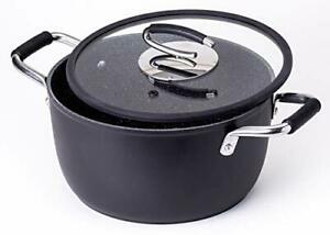 Vesuvio 5 Quart Nonstick Dutch Oven :: Nontoxic Ceramic Coated Stock Pot with