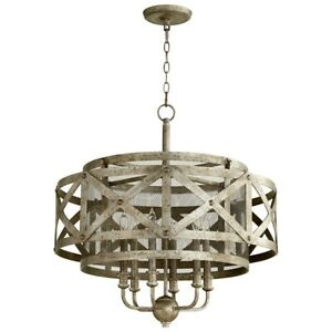 Cyan Design 6 Light Byzantine Pendant Graphite - 8367