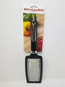 KITCHENAID BLACK FLAT CHEESE GRATER ZESTER