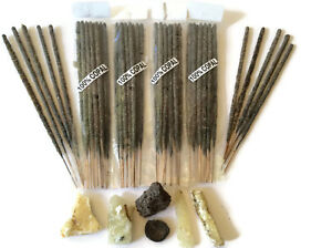 Copal Incense Sticks From Mexico 4 Bags of 10 Sticks Handmade With Real Copal.