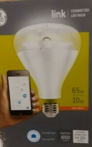 GE Link Connected LED Bulb 65W replacement 10W Soft White 650 Lumens BR30 ZIGBEE