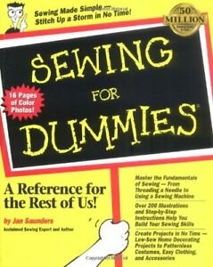 Sewing For Dummies by Saunders Maresh Jan Paperback $15.95