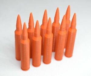 5.56 223 .22LR 7.62 .308 300 Blackout Dummy Rounds Snap Caps Firearm Training