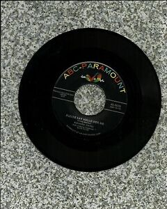 RICHARD HAYES quot;PLEASE SAY HELLO FOR ME STREET OF..quot; ABC PARAMOUNT RECORDS 45 RPM