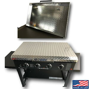 Diamond Plate Aluminum Lid Storage Cover for 36