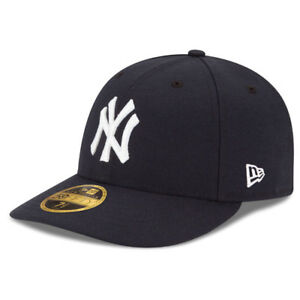 New Era 5950 New York Yankees GAME Low Profile Fitted Hat DKNV MLB Cap