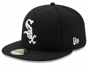 New Era Chicago White Sox GAME 59Fifty Fitted Hat Black MLB Cap $32.99