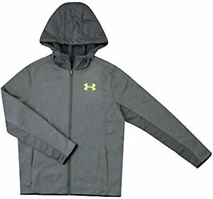 Under Armour Big Boys 8 18 Athletic Full Zip Storm Hooded Light Jacket Hoodie $100.00