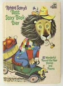 HB Childrens Book Richard Scarry's BEST STORY BOOK EVER 82 Stories