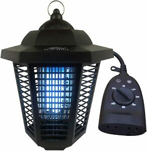 Electric Bug Zapper with Outdoor Timer Included 1/2 Acre Mosquito Killing Lamp