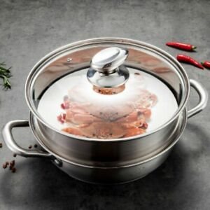 304 Stainless Steel Steamer Hot Pot Steamed Stuffed Bun Lobster Cooking