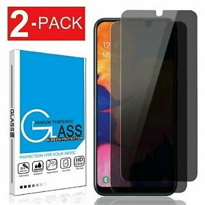 For Galaxy A10e A20 A50 A70 A80 Privacy Anti Spy Tempered Glass Screen Protector