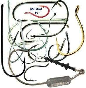 Mustad Fishing Hooks Choose Model Size and Quantity