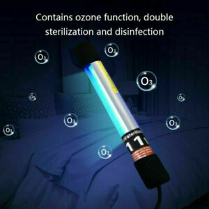 Portable Sterilize UV C Light Germicidal UV Lamp Home Handheld Disinfection 11W $39.99