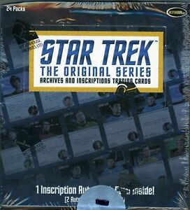2020 Star Trek TOS Archives & Inscriptions Factory Sealed Box  P1 Promo