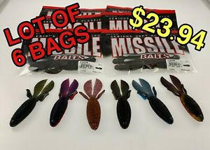 LOT OF 6 BAGS - D BOMB from Missile Baits - 4.5