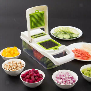 Vegetable Chopper Onion Tomato Carrot Slicer Cutter Chopper Dicer Grater