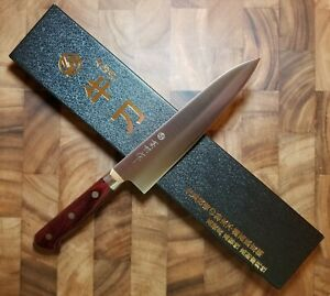 Takamura Migaki 180mm Gyuto Japanese Chef#x27;s Knife R2 Powdered Steel