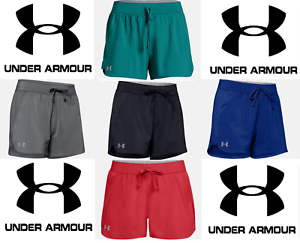 Under Armour Women's Gametime 3 Running Work Out Yoga Shorts FREE SHIP 1294516 $20.99