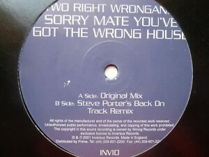 TWO RIGHT WRONGANS SORRY MATE YOU#x27;VE GOT THE WRONG HOUSE GBP 13.90
