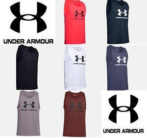 Under Armour Men's UA Sportstyle Sleeveless Cutoff T Shirt Athletic Tank 1329589 $17.99