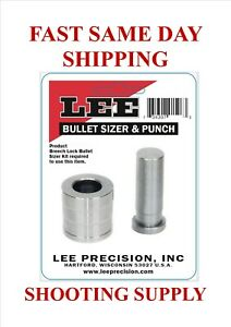 Lee Bullet Sizer and Punch .358 FREE SAME DAY SHIPPING 91520 $18.99