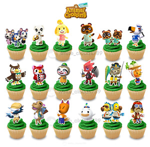 18 Animal Crossing New Horizons Special Characters 1 Cupcake Cake Toppers Party