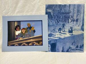 Hunchback of Notre Dame Commemorative Lithograph Disney Store 1997 $9.99